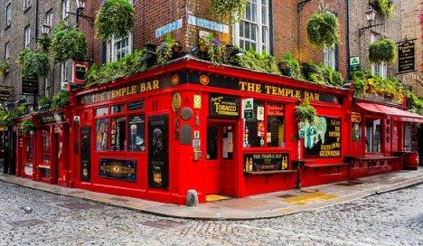 Ireland, Dublin, Temple Bar, Pub, Beer