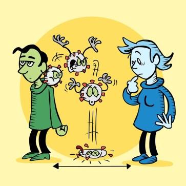 Covid-19, Coronavirus, Social Distancing, Virus