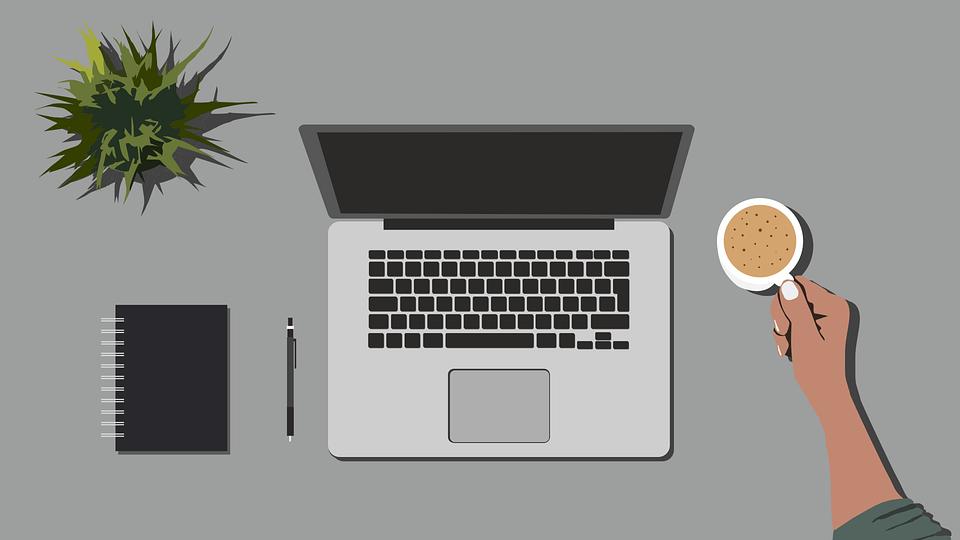 Telework, Computer, Work, Monitor