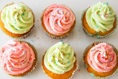 Cupcakes, Cupcake, Food, Pastry, Color, Dessert