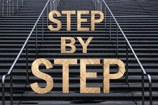 Stairs, Gradually, Success, Gradual