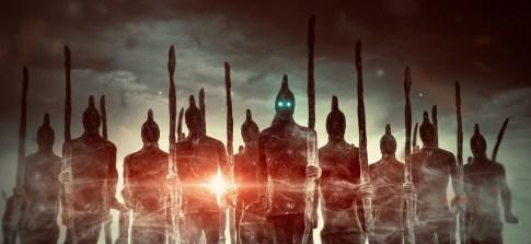 ファンタジー, 軍, 戦士, 男性, 文字, ライト, 厳しい, 男性的, 劇的, 怖い, 不思議な