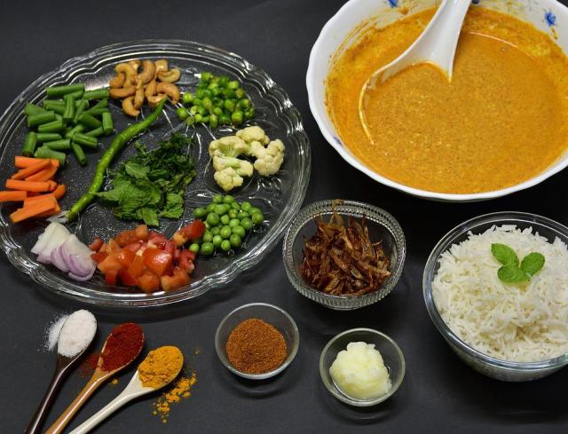 Biryani, Rice, Food, Cuisine, Traditional, Lunch