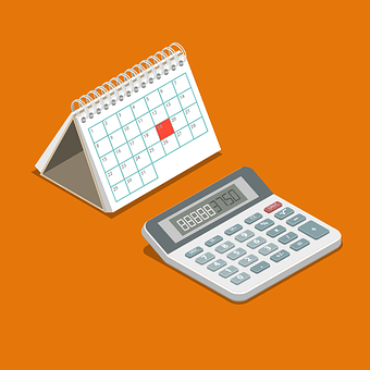 メモ, カレンダー, 電卓, スケジュール, 予定, 日記, オフィス, 計画