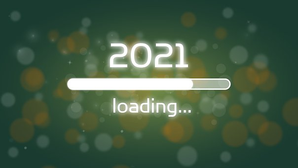 Loading Bar, 2021, New Year'S Eve