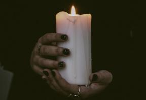 Halloween traditions across the globe Candle, Wax, Hands, Incandescent, Flame, Burning