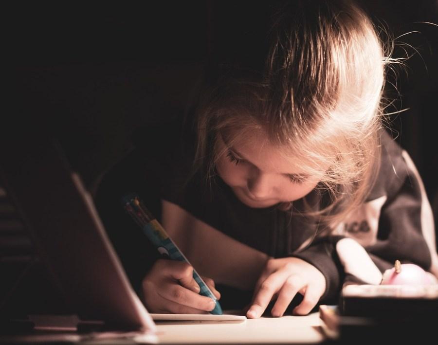 Child, Girl, Writing, Student, Kid, Young, Childhood