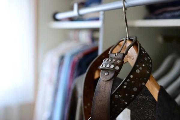 Wardrobe, Coat Hanger, Belts, Dressing Room