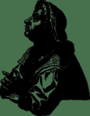 Ezekiel, Prophet, Line Art, Man