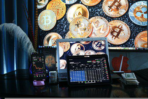 Trading, Blockchain, Cryptocurrency