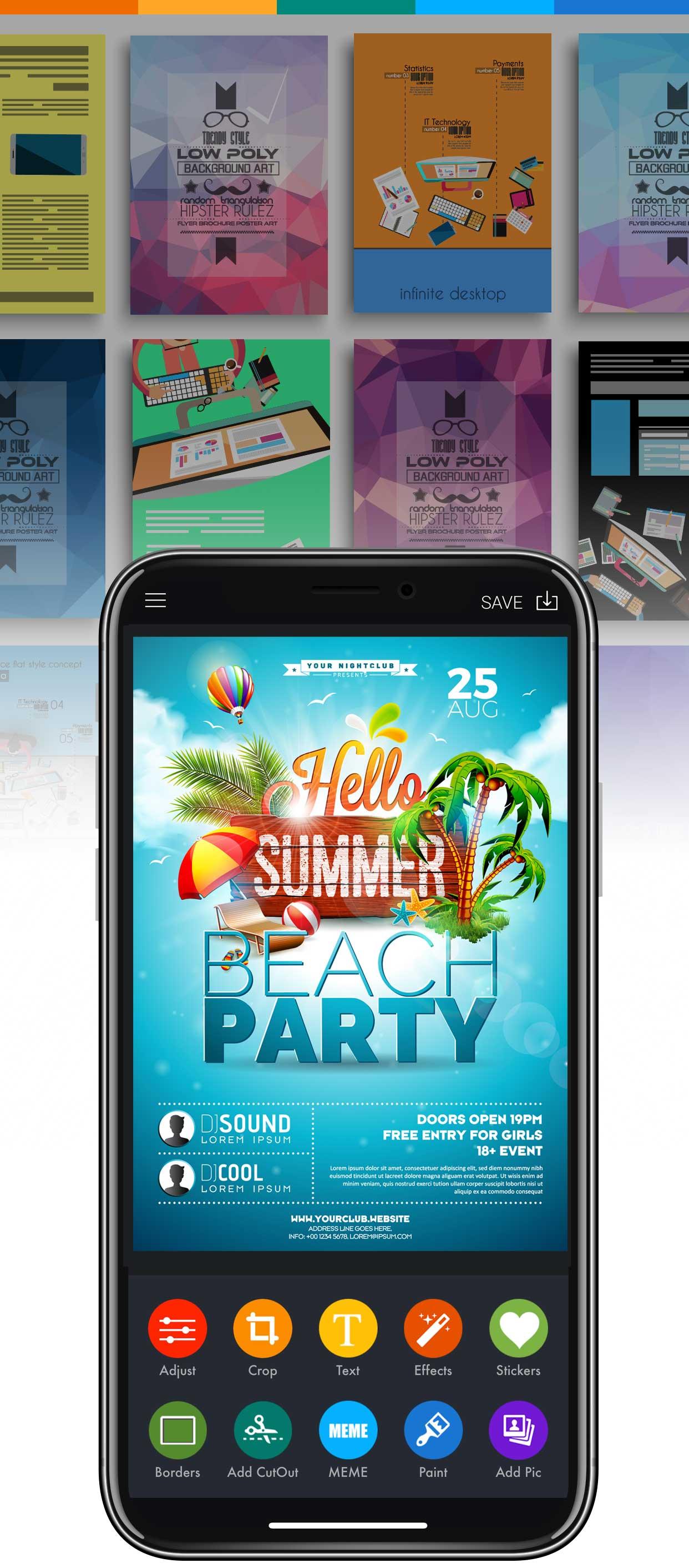 flyer maker app make flyer online