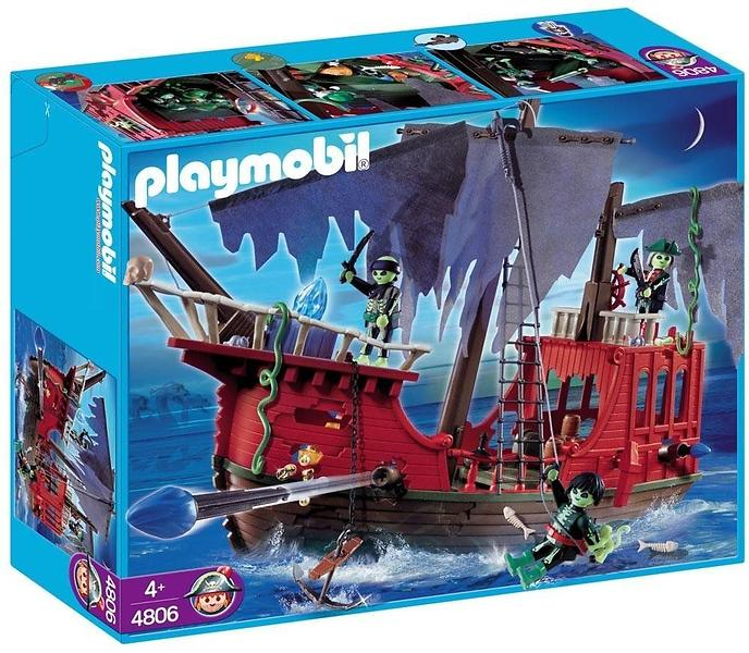 Best Deals On Playmobil Pirates 4806 Ghost Pirate Ship