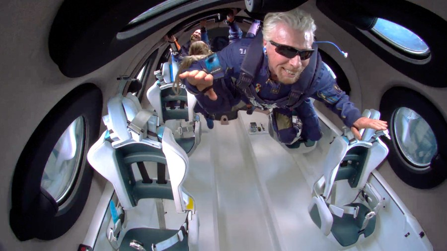 RB Space - Reports: Branson, Others Were In Grave Danger On Virgin Galactic Space Flight. Company Issues Denial.