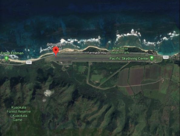 hawaii skydive crash site3 640x483 1 - Dillingham, Hawaii, Airport Gets A Lifeline