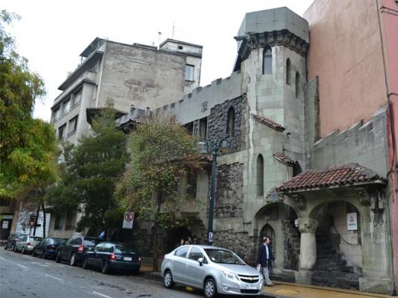 Casa Taller de Luciano Kulczewski en Barrio Lastarria. © Santiago Kul