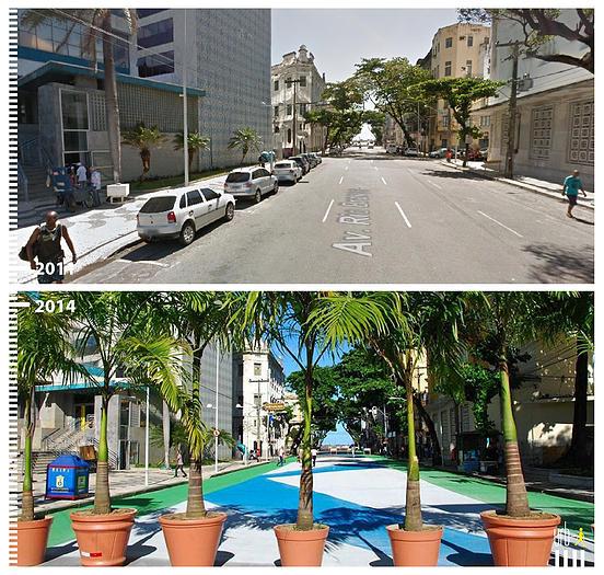 Av. Rio Branco, Recife, Brasil. © Urb-i