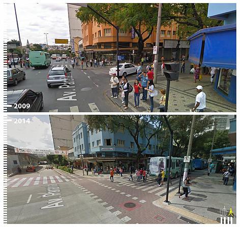 Avenida Parana, Belo Horizonte. © Urb-i