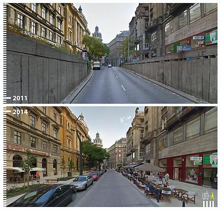 Ferenciek Tere, Budapest Hungría. © Urb-i