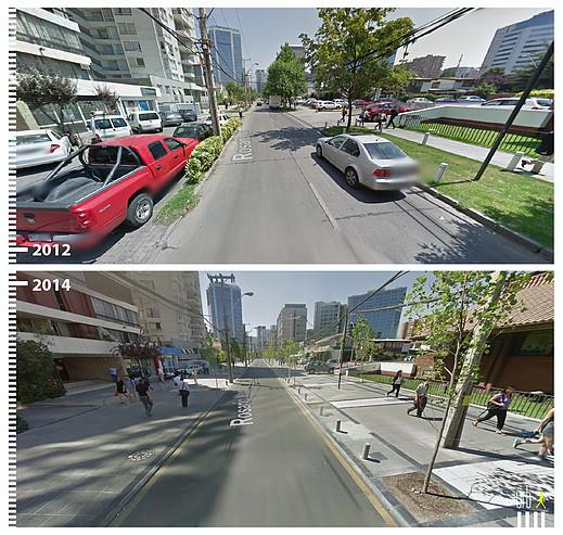 Calle Rosario Norte, Santiago. © Urb-i