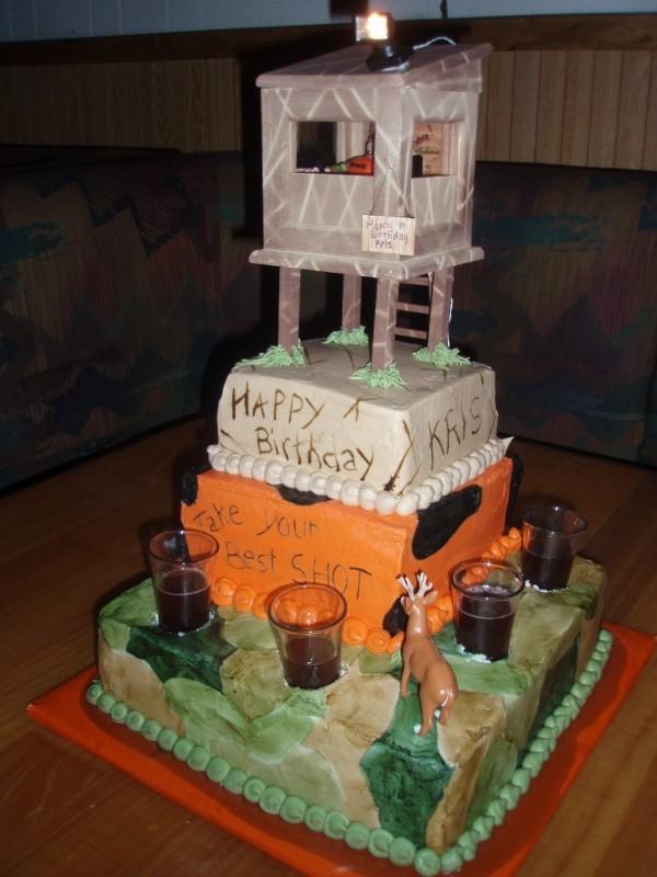 Deer Birthday Cake The Best Cake 2017