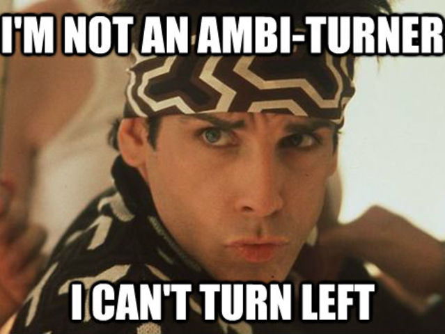 Image result for zoolander quotes i cant turn left