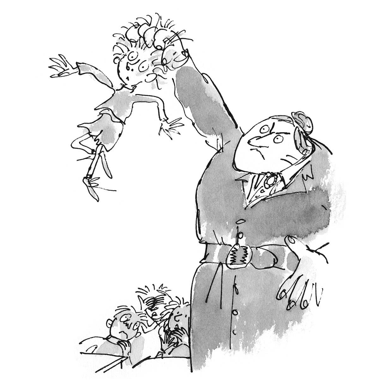 Matilda Roald Dahl Coloring Pages