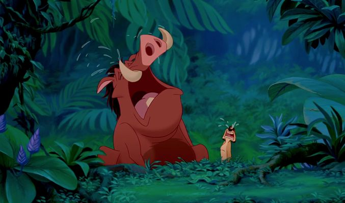 Image result for timon and pumbaa crying