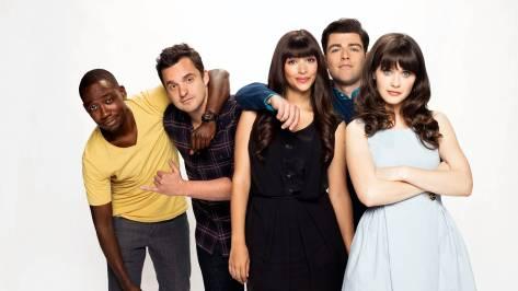 De cast van New Girl, de populairste serie op Netflix België
