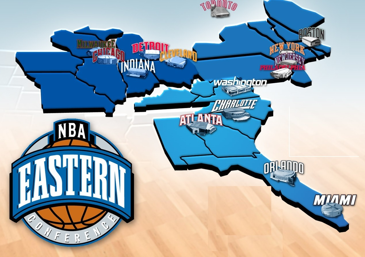 Image result for nba eastern conference teams
