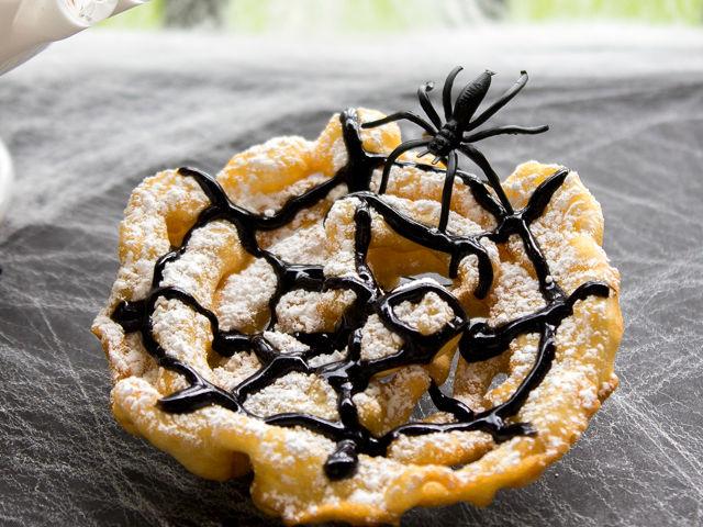 Halloween Funnel Cakes