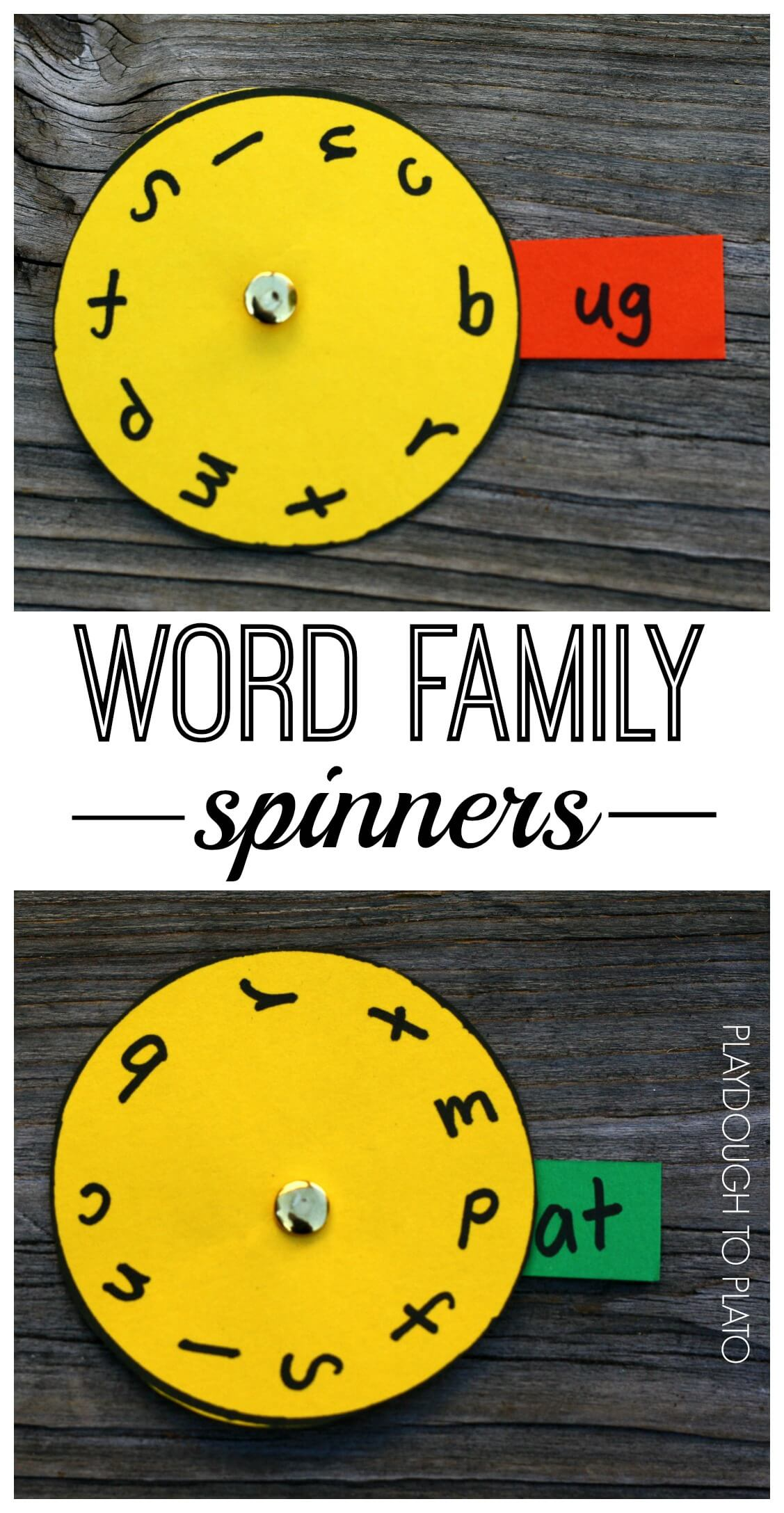 Spin A Word Family