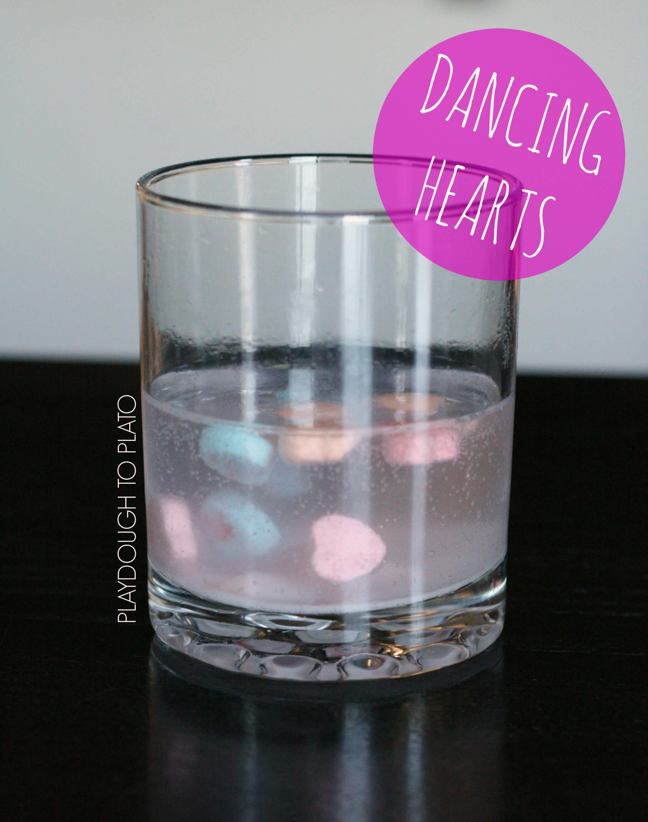 Dancing Conversation Hearts