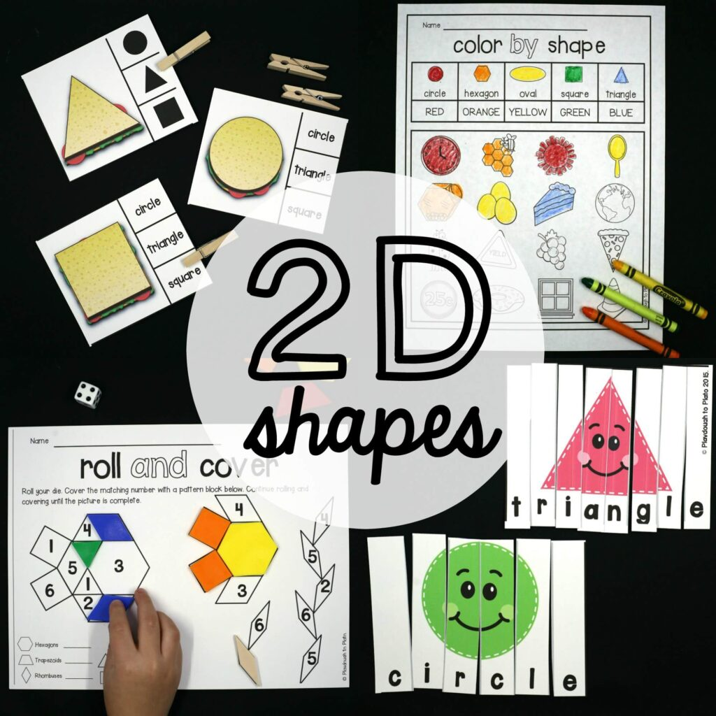 2d Shape Activities