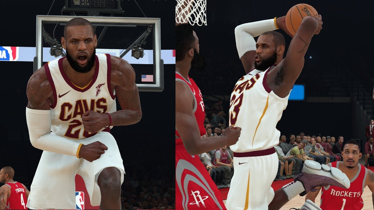NBA 2K18 Roster Update For December Brings LeBron James To