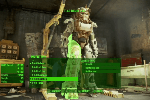 Fallout 4 Power Armor Crafting Guide Tips And Tools For