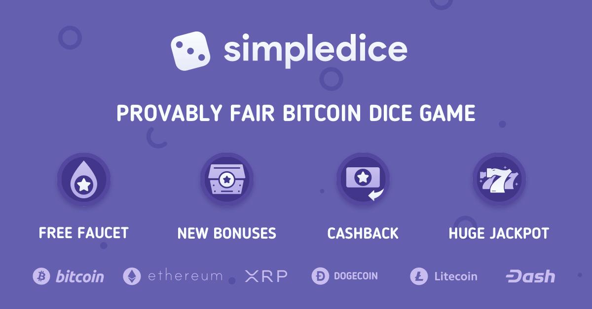 bitcoin casino dice game