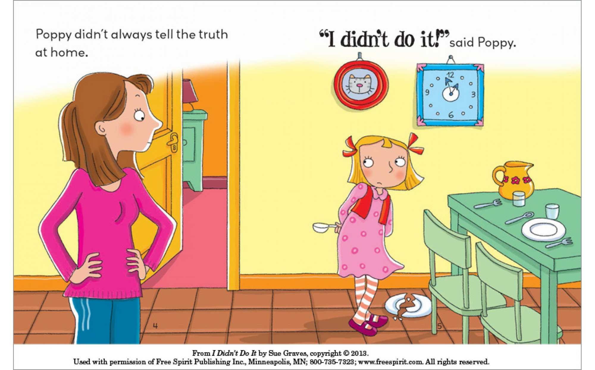 I Didn T Do It A Book About Telling The Truth Books