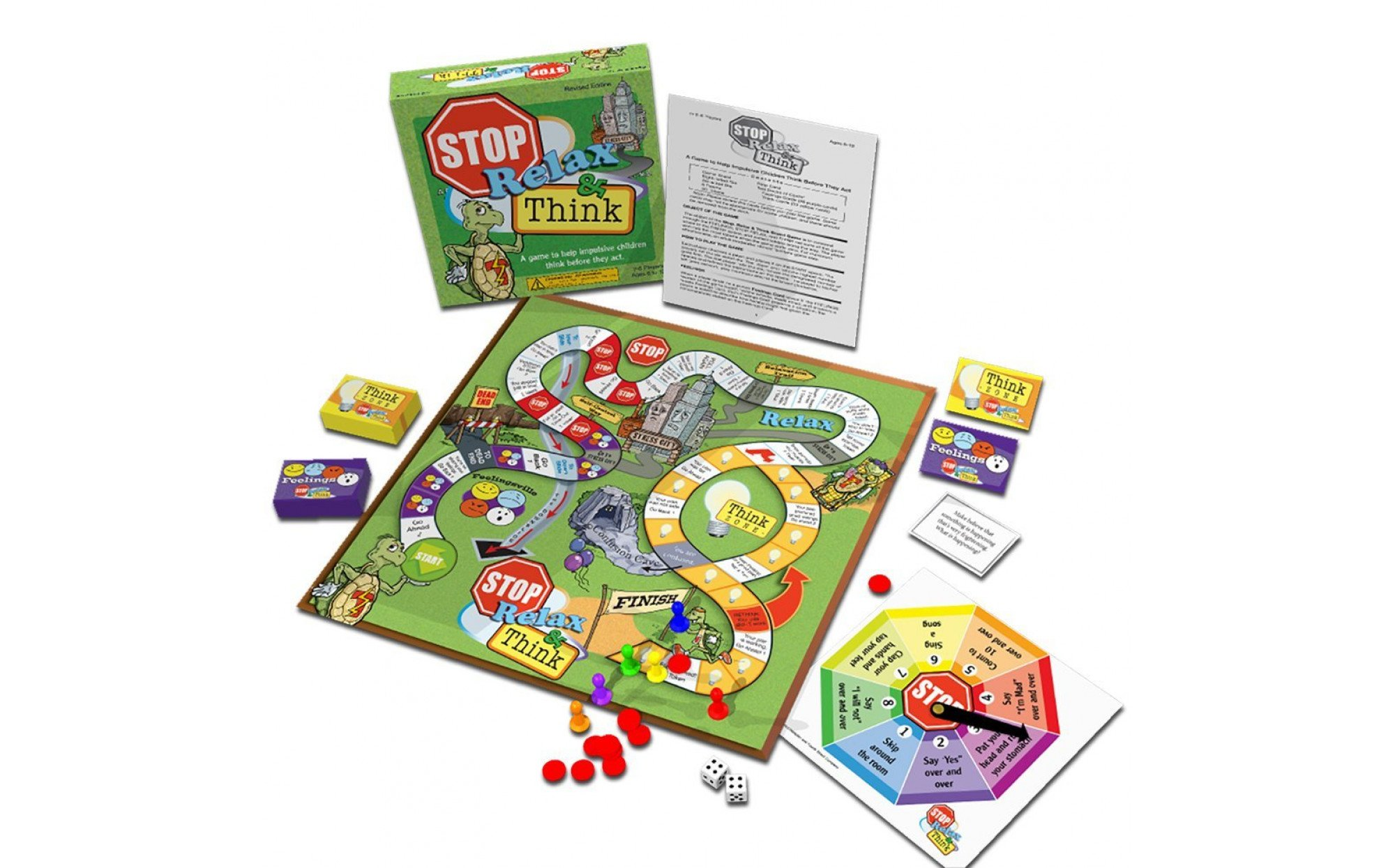 Stop Relax And Think Board Game Games