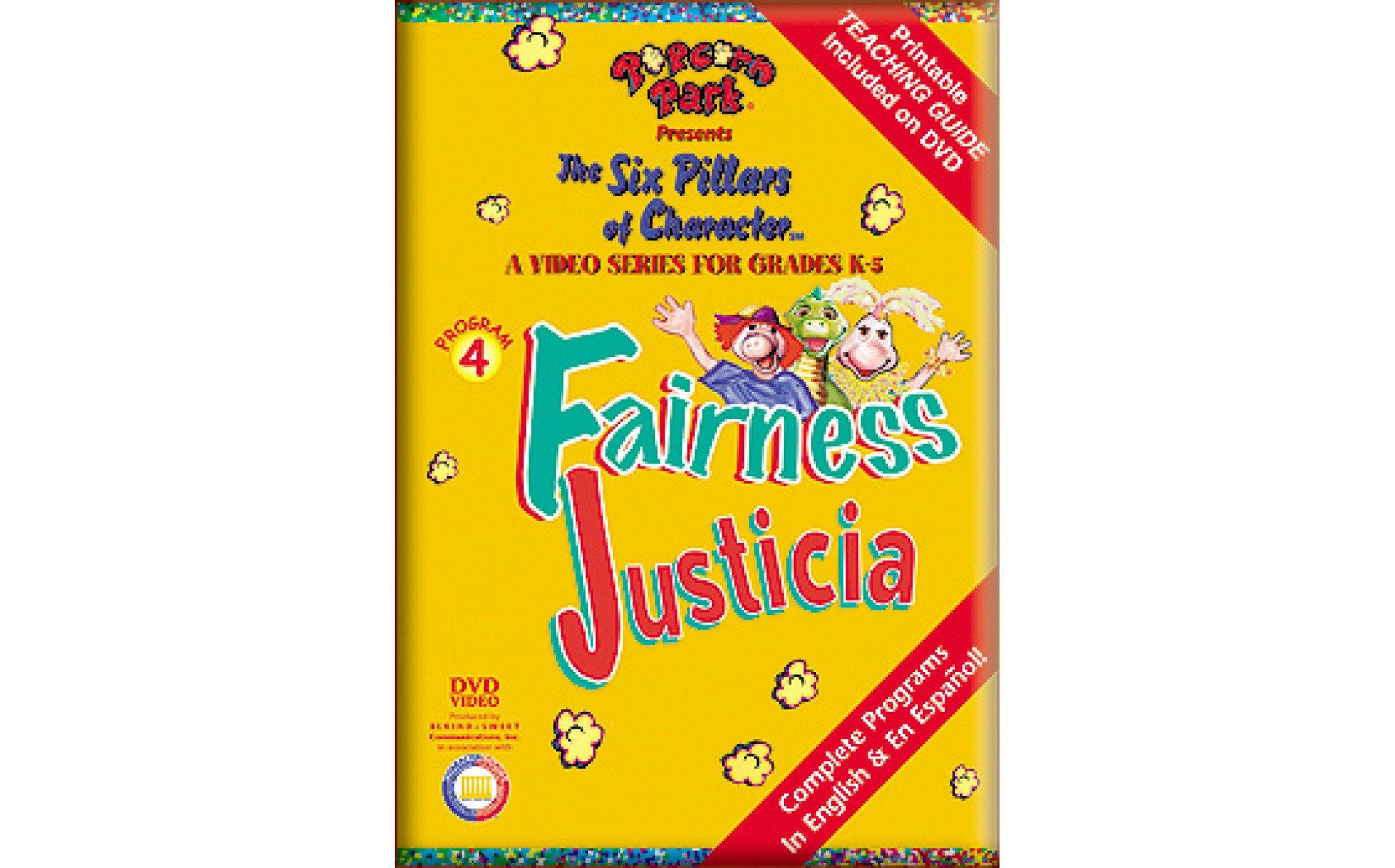 The Six Pillars Of Character Fairness Disk 4 Media