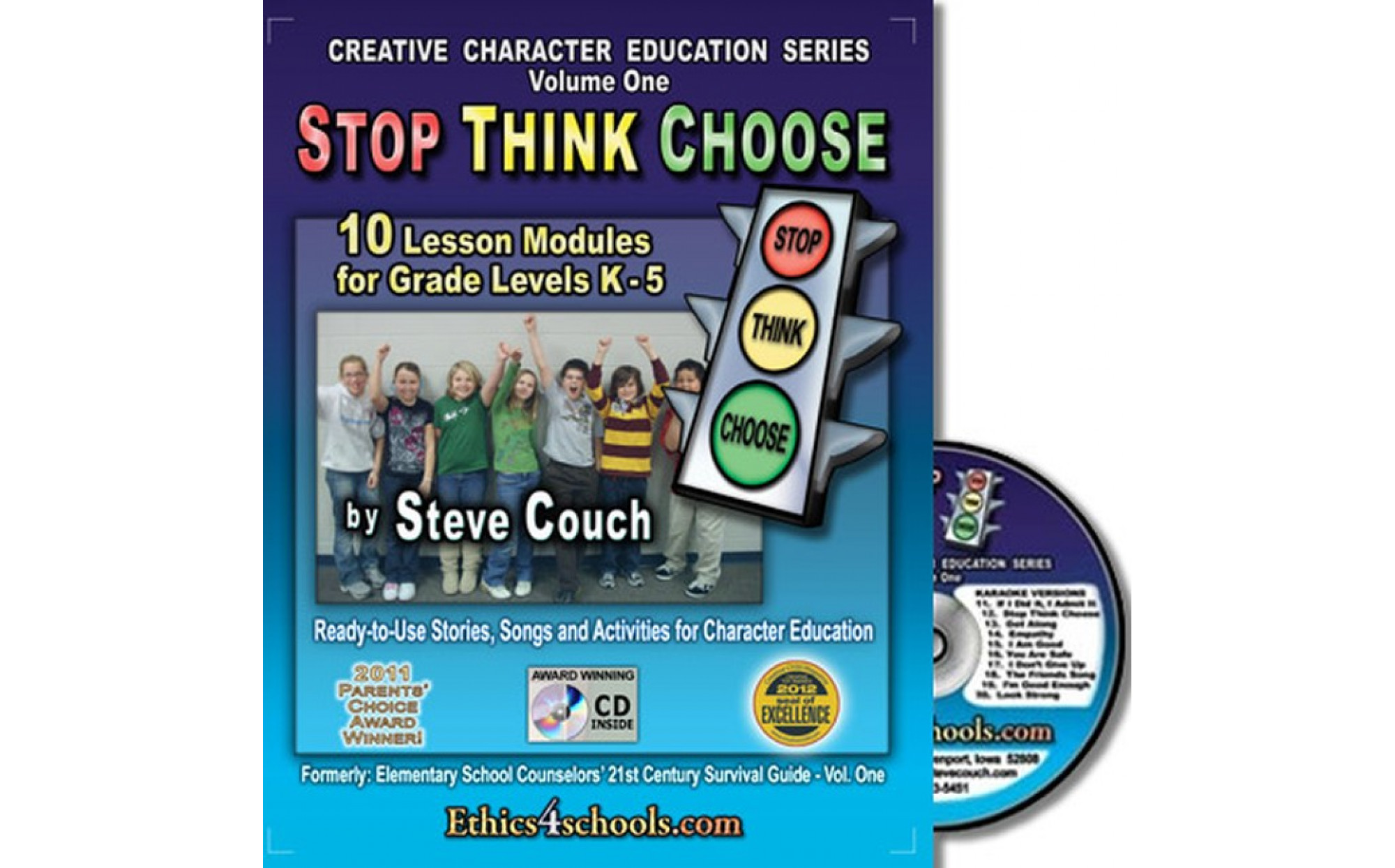 Stop Think Choose Activity Book With Cd Books