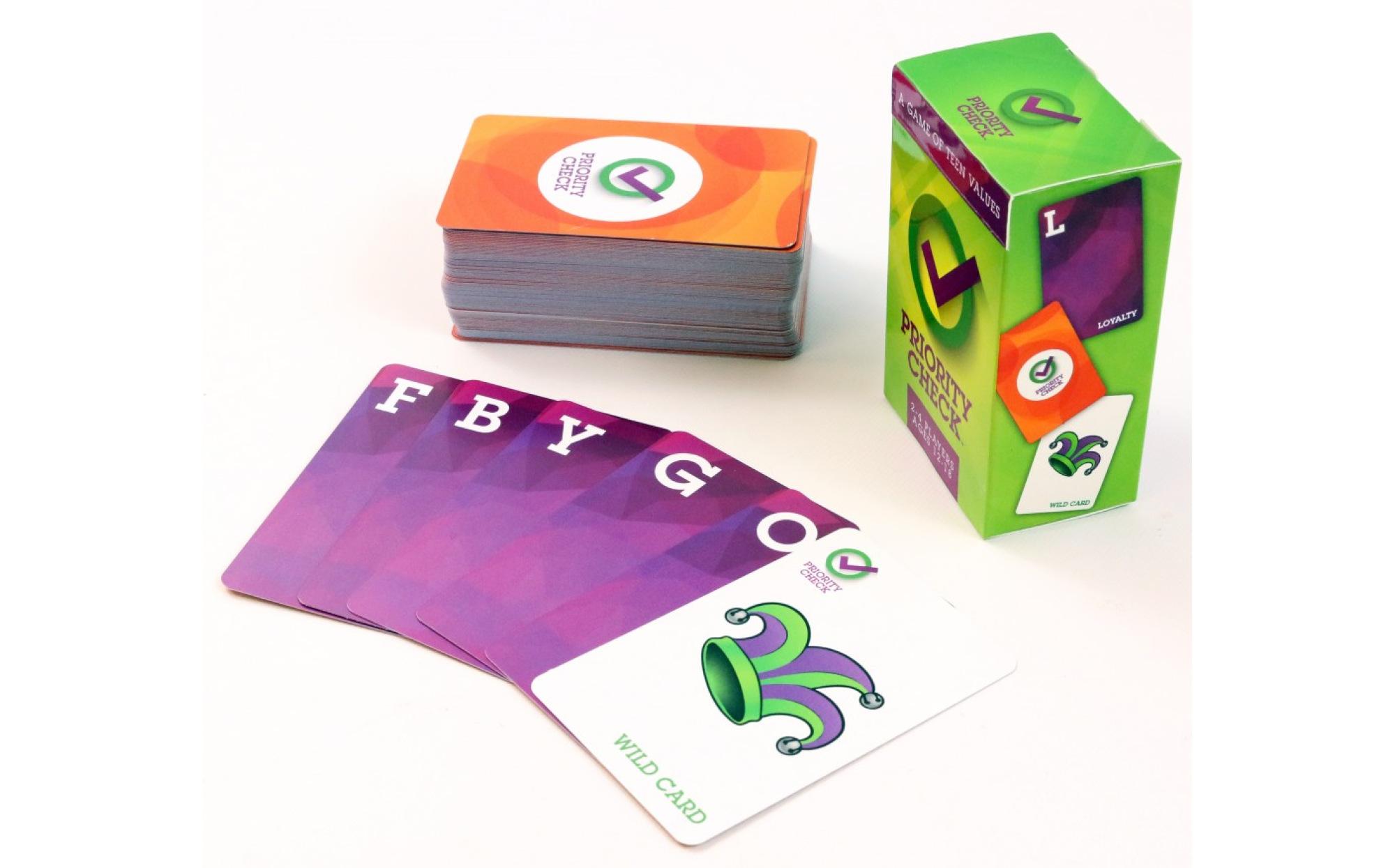 Priority Check A Game Of Teen Self Awareness Games