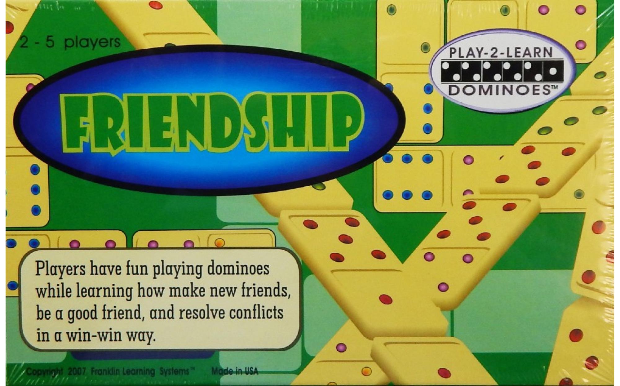 Friendship Dominoes Games