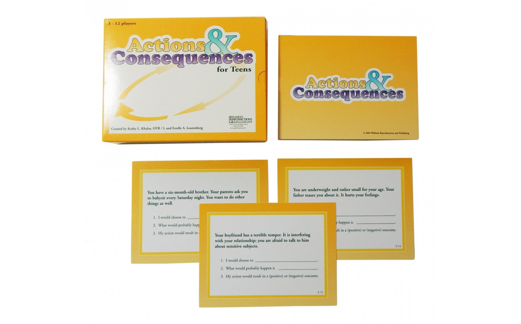 Actions Amp Consequences For Teens Games