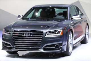 The new AudiS8 crossover vehicle