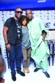 Darey Art Alade, Nneka Egbun and Dede Mabiaku at Nigerian Idol Season 4 press launch