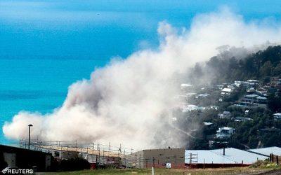 Tsunami hits New Zealand