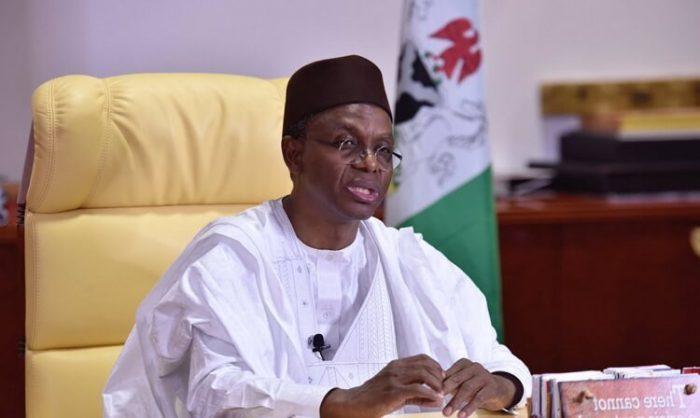 Governor Nasir El-rufai of Kaduna state: says no negotiation with bandits