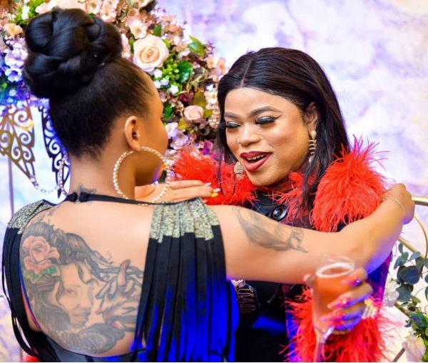 Tonto Dikeh celebrates Bobrisky with photo splash - P.M. News
