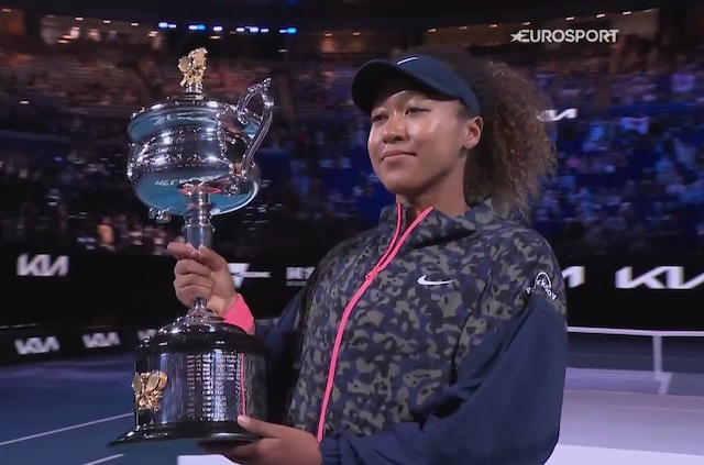 Naomi Osaka: named Laureus Sportswoman of 2021