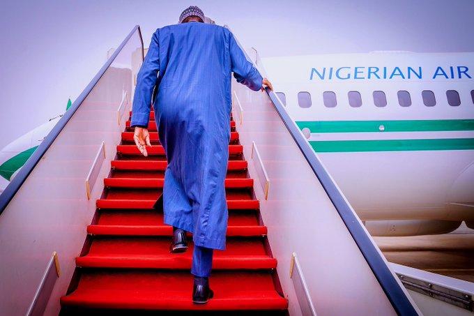Buhari departs Nigeria on Tuesday 30 March